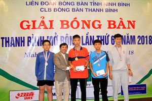 Phan Đình Phúc: Tay vợt trẻ giàu tiềm năng của bóng bàn Tam Điệp