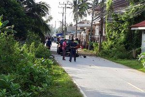 Hai sỹ quan cảnh sát bị thương trong vụ nổ bom tại miền Nam Thái Lan