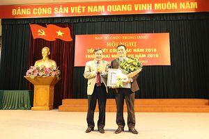 Ban Tổ chức Trung ương tổng kết công tác năm 2018, triển khai nhiệm vụ năm 2019
