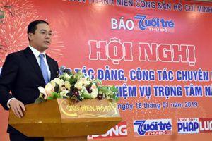 Báo Tuổi trẻ Thủ đô vượt khó khăn giữ vững vai trò cơ quan ngôn luận của Đoàn