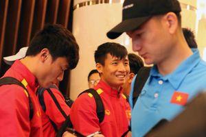ĐT Việt Nam đã có mặt ở Dubai, sẵn sàng cho đại chiến với ĐT Jordan