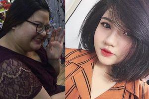 Cô gái 107 kg lột xác sau hơn nửa năm giảm cân