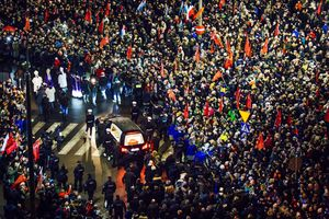 Lãnh đạo EU và hàng nghìn người đưa tiễn thị trưởng Ba Lan bị ám sát