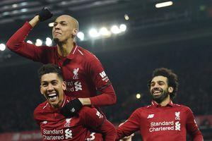 Salah tỏa sáng giúp Liverpool thắng nghẹt thở Crystal Palace 4-3