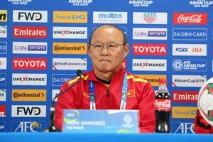 HLV Park Hang-seo: 'Việt Nam tự tin khi đối đầu Jordan'