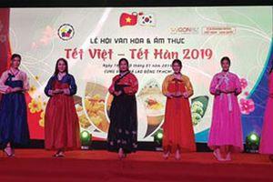 Hấp dẫn lễ hội Văn hóa Tết Việt - Tết Hàn