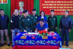 Công tác thông tin liên lạc biển giữa Đồn Biên phòng Phú Lộc với bà con ngư dân đã mang lại hiệu quả thiết thực.