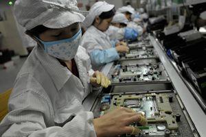 Foxconn giảm 50.000 công nhân lắp ráp iPhone