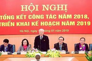 Năm 2019: Đoàn đại biểu Quốc hội TP Hà Nội sẽ tổ chức 3 hội nghị tiếp xúc cử tri chuyên đề