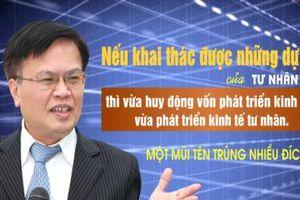 TS. Nguyễn Đình Cung: 'Khai thác dự án tư nhân, một mũi tên trúng nhiều đích'