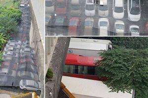 Thủ tướng yêu cầu kiểm tra bãi gửi xe lậu hàng nghìn m² gầm cầu Thăng Long