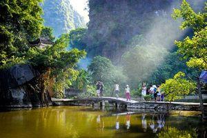 Cảnh sắc hữu tình ở chùa Bích Động