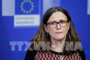 EU sẽ không đàm phán về hàng nông sản với Mỹ