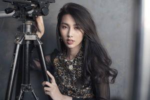 Hậu Miss International, Thùy Tiên 'khuôn trăng đầy đặn nét ngài nở nang' đẹp nao lòng