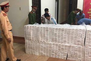 Phát hiện hơn 40.000 cây thuốc lá nhập lậu từ Campuchia ở Sài Gòn