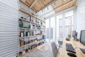 Hà Nội: Căn nhà 10m2 xây không tốn 1 viên gạch vẫn đẹp mê ly, ai nhìn cũng choáng