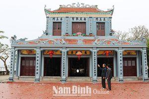 Nam Định: Các di tích thờ Triệu Việt Vương ở Ý Yên