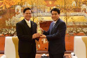 Chủ tịch Thành phố Hà Nội tiếp đoàn Tổng hội Hội thánh Tin lành Việt Nam