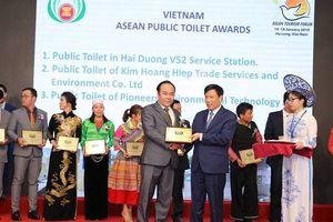 Việt Nam nhận giải thưởng 'Nhà vệ sinh công công tốt nhất ASEAN' năm 2019