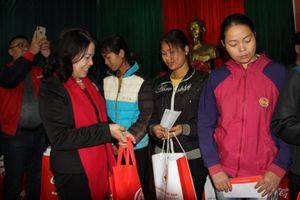 Hội Chữ thập đỏ Việt Nam tổ chức 'Tết nhân ái' tại Thái Nguyên, Tuyên Quang