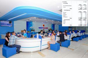 'Hậu' bầu Kiên, Vietbank giảm lãi 62%, nợ khả năng mất vốn tăng 29%
