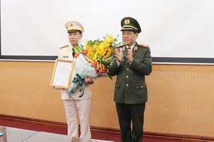 Bổ nhiệm Trưởng phòng Cảnh sát Kinh tế Công an TP Hà Nội