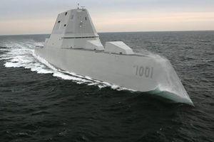 Hải quân Mỹ sắp biên chế siêu tàu khu trục lớp Zumwalt thứ 2