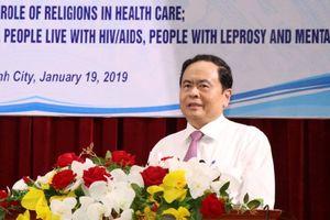 BẢN TIN MẶT TRẬN: Đoàn kết tôn giáo, chăm lo sức khỏe cho nhân dân