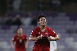 Quang Hải dẫn đầu cuộc đua giành giải 'Cầu thủ hay nhất vòng bảng Asian Cup 2019'