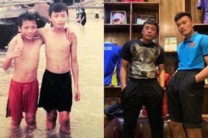 Khi các cầu thủ Việt Nam tham gia khoe ảnh thử thách 10 năm