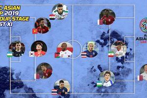 Đội hình tiêu biểu vòng bảng Asian Cup: 1 cầu thủ Việt Nam được vinh danh