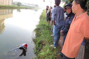Cùng xe máy rớt xuống mương thủy lợi, 1 phụ nữ tử vong
