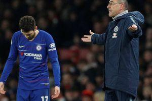 HLV Chelsea thất vọng và tức giận vì học trò thua Arsenal