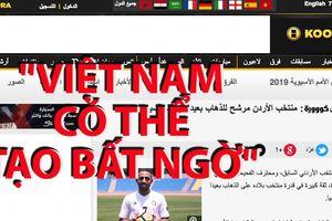 Báo chí Jordan viết gì về đội tuyển Việt Nam?