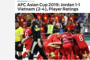 Báo nước ngoài chấm điểm Công Phượng, Văn Lâm...sau trận thắng Jordan