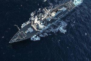 Hải quân Nga theo sát tàu chiến Mỹ trên biển Đen