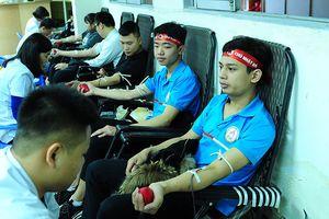 Tuổi trẻ Thái Bình sôi nổi tham gia hiến máu Chủ nhật Đỏ