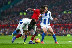 Man Utd 2 -1 Brighton: 'Top 4 vẫy gọi'