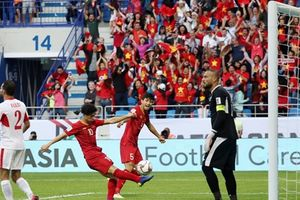 Cầu thủ nào được chấm điểm cao nhất ở trận Việt Nam hạ Jordan?