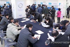 Hàn Quốc chi khoản trợ cấp thất nghiệp cao kỷ lục trong năm 2018