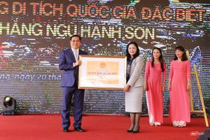 Đà Nẵng: Danh thắng Ngũ Hành Sơn chính thức nhận Bằng xếp hạng di tích Quốc gia đặc biệt
