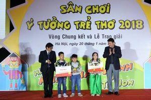Chung kết và trao giải 'Cuộc thi Ý tưởng trẻ thơ' lần thứ 11
