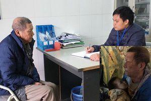 Ông cụ 72 tuổi bế cháu ngoại vạ vật chân cầu Chương Dương từng có 2 tiền án