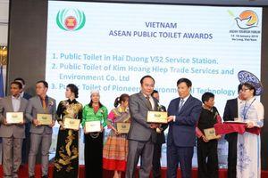Việt Nam được trao giải thưởng 'Nhà vệ sinh công cộng ASEAN 2019'