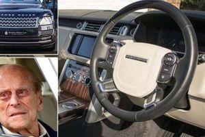 Lái Land Rover, phu quân của Nữ hoàng Anh may mắn thoát nạn khi va chạm