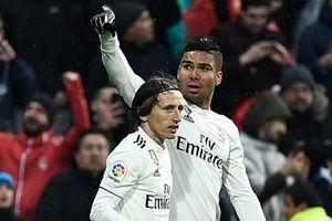 Luka Modric lập công, Real lọt vào top 3