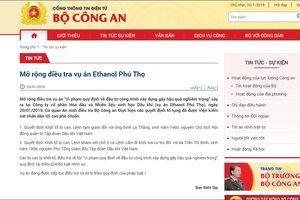 Mở rộng điều tra vụ án Ethanol Phú Thọ, khởi tố ông Đinh La Thăng