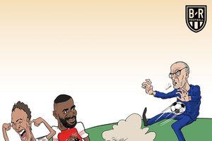 Biếm họa 24h: MXH 'ngả mũ' trước MU, Pháo thủ đả bại Chelsea