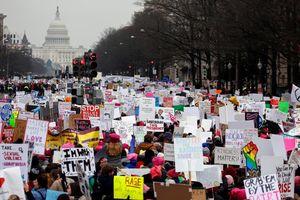 Cuộc tuần hành của phụ nữ năm thứ 3 liên tiếp trên khắp nước Mỹ