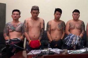 Khởi tố trùm giang hồ Vũ 'bông hồng' cùng 11 đồng phạm